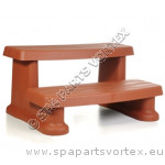 Essentials Spa Side Steps Red