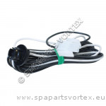 2 pin Amp cord (light)