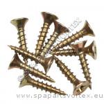 Wood Screws (4 x 25mm) Pack Of 10