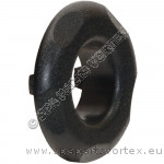 Polyjet Large Face Escutcheon Black