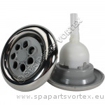 Cyclone Jet, Twin Spin, Stainless, Grey