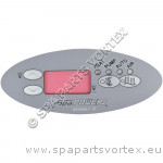 Overlay for SP601 Oval Touch Panel