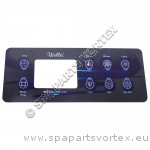 Wellis Control Panel Overlay - VL801D