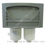 100sq ft Front Access Skim Filter Assembly Oval GREY