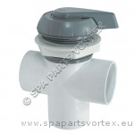 2 inch Water Diverter Grey