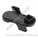 Handle for 1 inch Diverter, Black (2003 to 2004)
