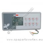 TSC-4 (K-4) Gecko 8 Buttons Topside Control (2 Pumps)
