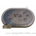 Vita Spa 6 Button Remote Touch Panel